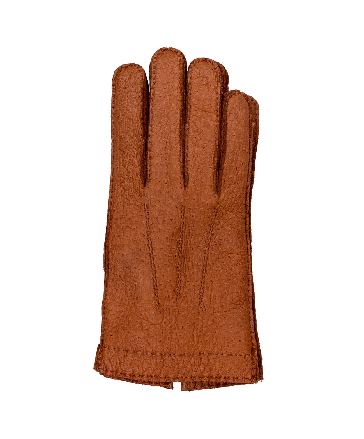 Peccary 382 Congnac Gloves Peccay skin Lining Cashmere