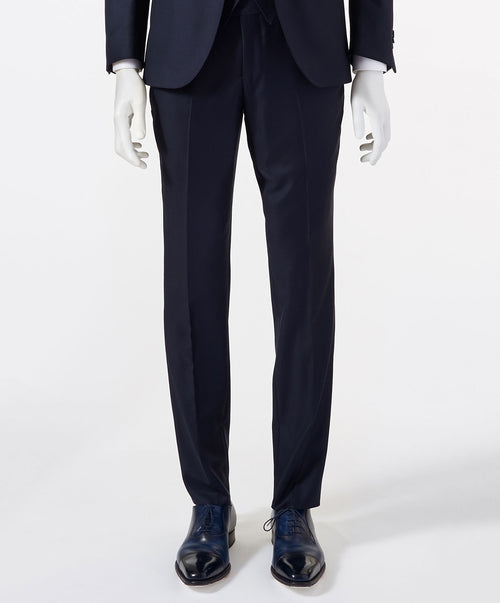 Paul Navy Solid Separates Pant
