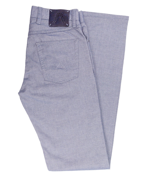 Pipe Light Blue Leisure Pant