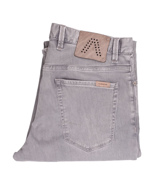 Pipe Light Grey Jeans