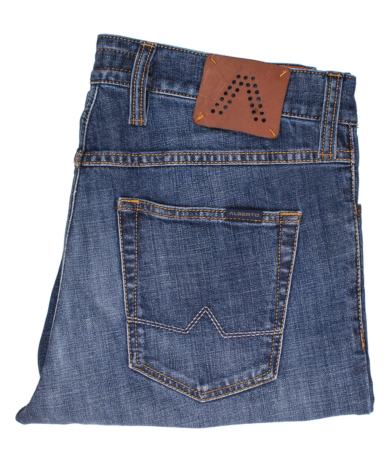 Pipe Mid Blue Authentic Jean