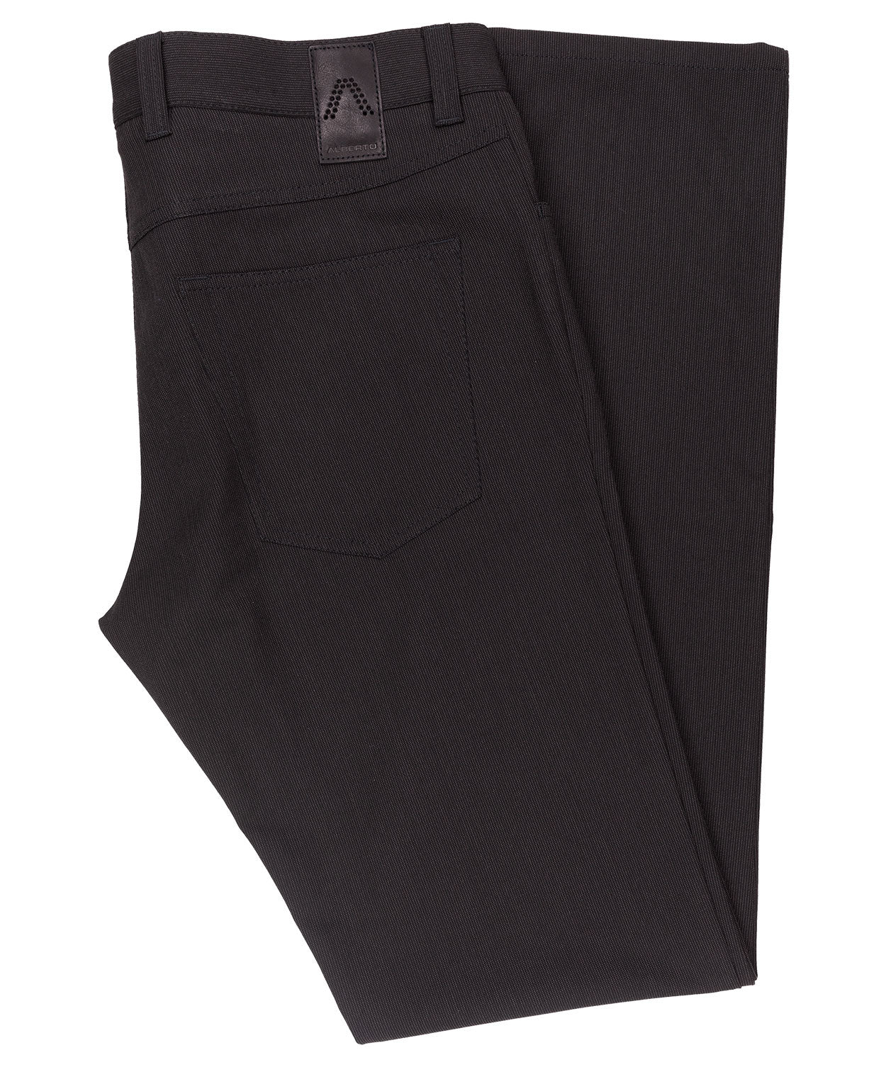 Pipe Charcoal/Black Ceramica Fine Stripe Pant