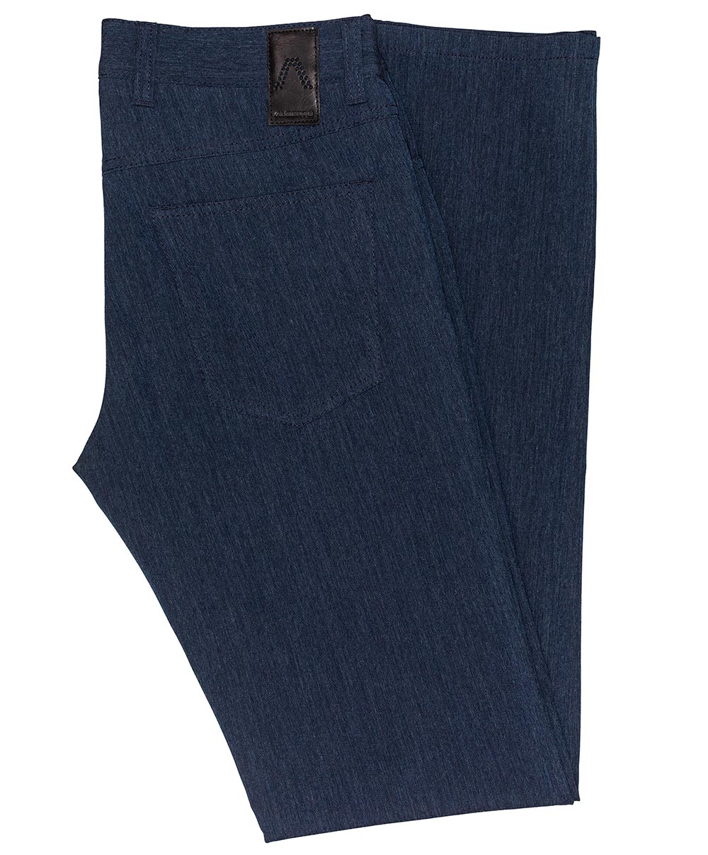 Pipe Blue Mix Ceramica Dress Pant