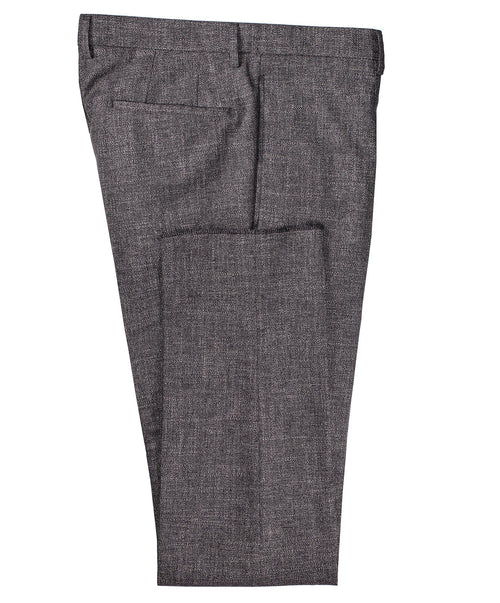Quinten Dark Grey Milled Dress Pant