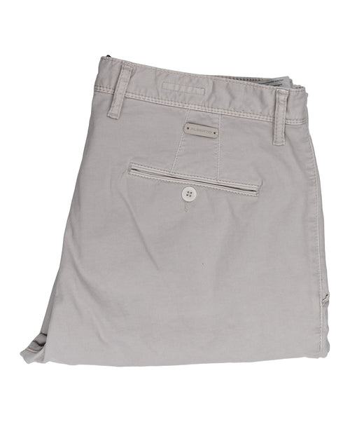 Rob Light Grey Casual Cotton Leisure Pant
