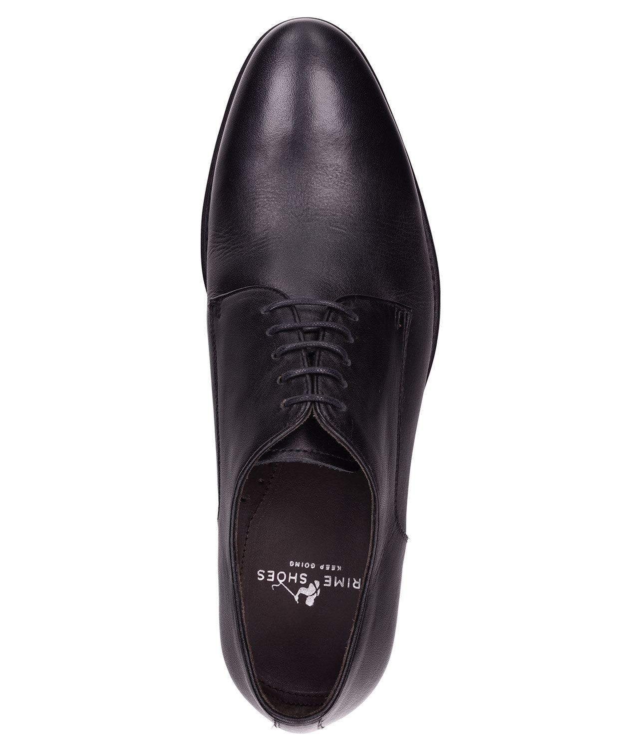 Roma Black Lace-up Dress Shoe