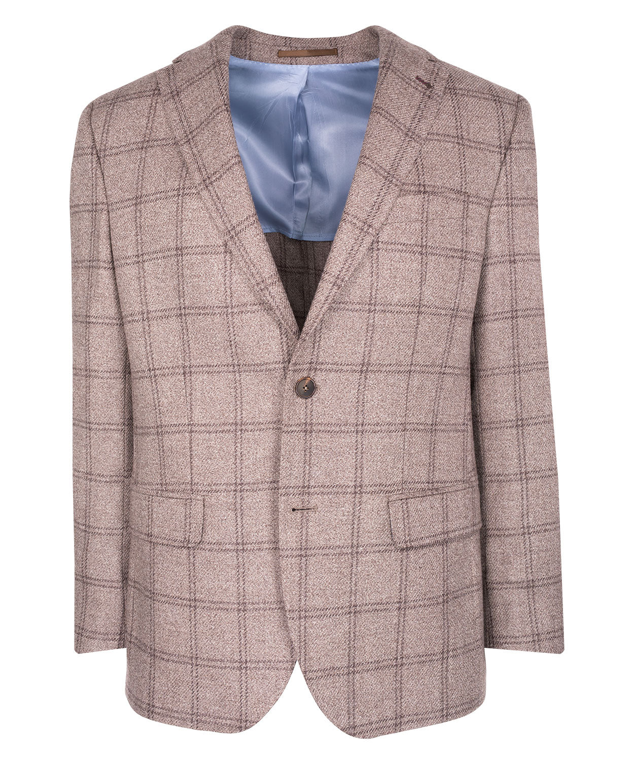Camel/Café Double Window Pane Jacket