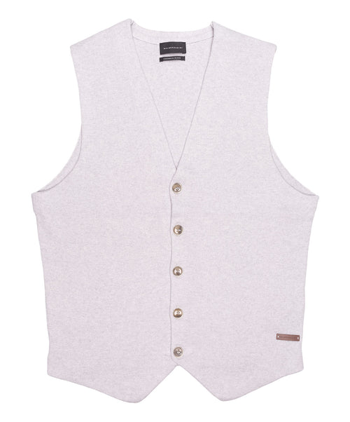 Santini Light Grey Knitwear Vest