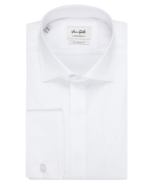 Smoking White French Cuff Formal Shirt