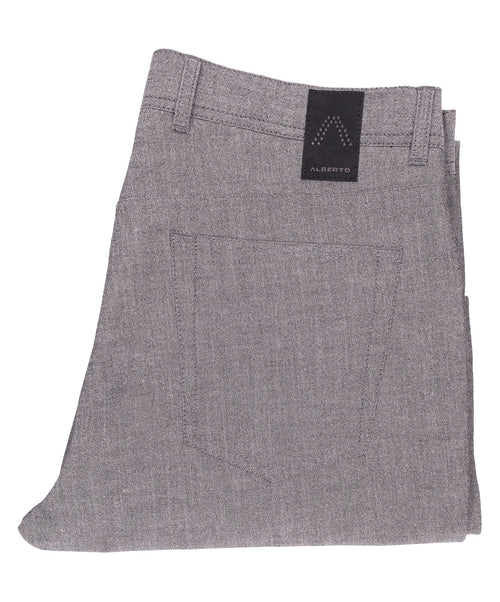 Stone Salt 'n' Pepper 5 Pocket Pant