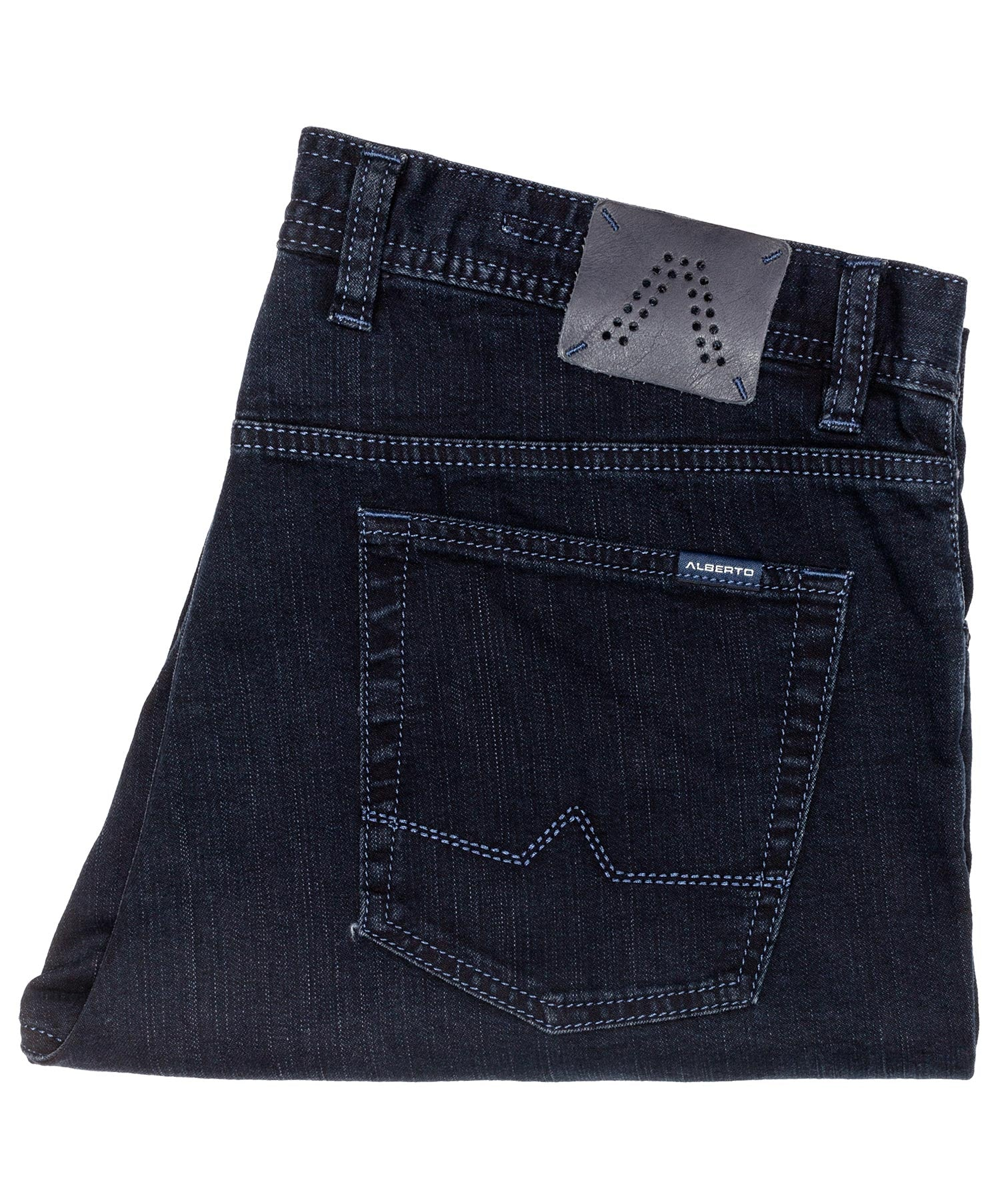 Stone Dark Blue Overdyed Jean