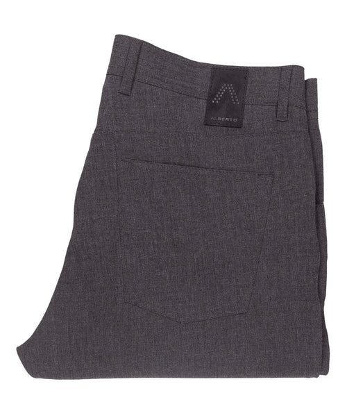 Stone Medium Grey 5 Pocket Pant