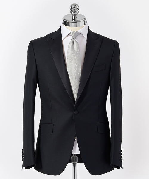 Taylor Black w Satin Peak Lapel Separates Tuxedo Jacket
