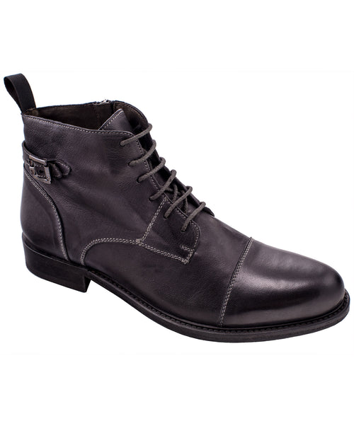 Twelve Anthracite Grey Vintage Demi-Boot