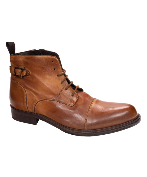 Twelve Whisky/Cognac Vintage Demi-Boot