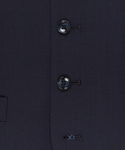 Evion Navy Solid Vest