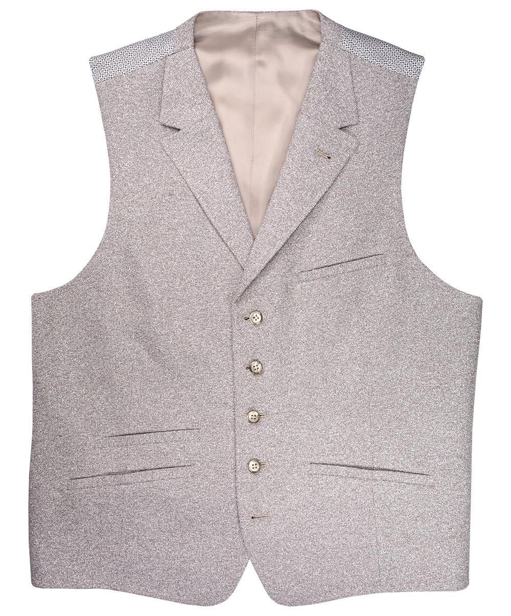 Taupe/Sand Boucle Vest
