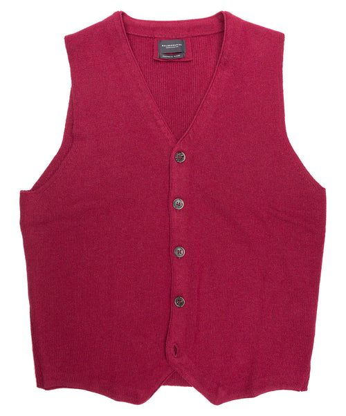 Walter Red Knitwear Vest