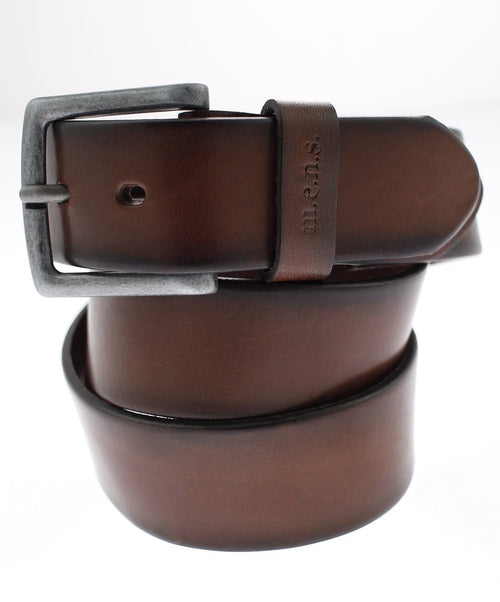 Cognac Vintage Casual Leisure Flexible Belt