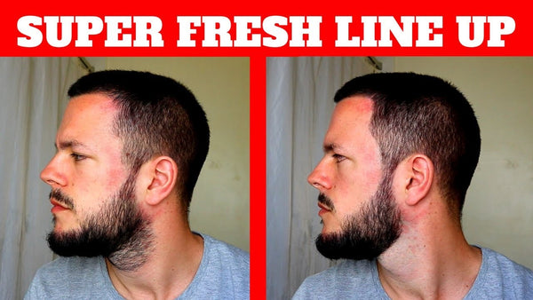 QUICK & EASY - HOW TO KEEP YOUR BEARD & HAIRCUT LOOKING FRESH/ HOW TO LINE UP YOUR BEARD & HAIR