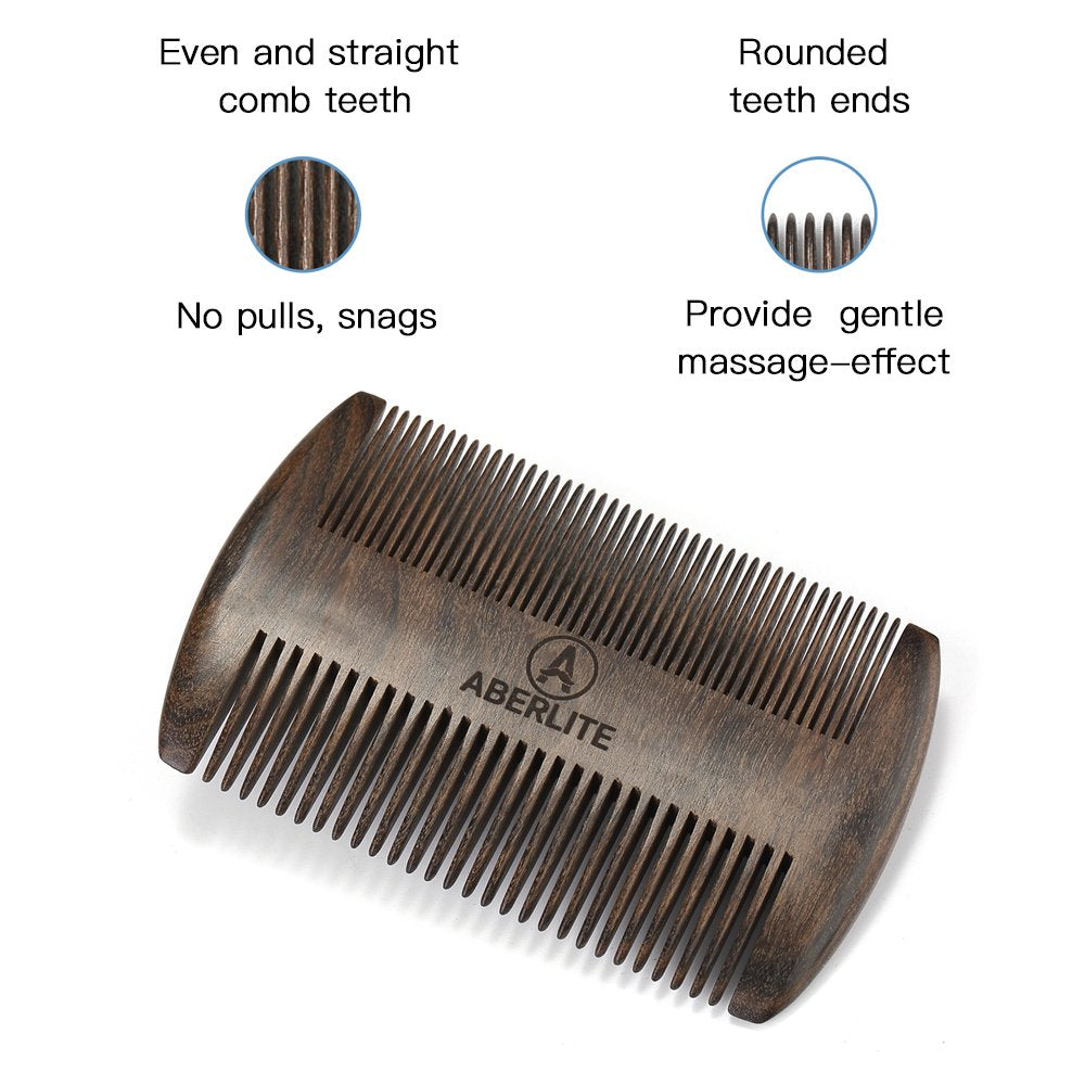 Aberlite Beard Straightening Comb Sandalwood (Black Sandalwood)