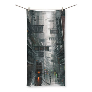 The City Beach Towel - Amaxeon