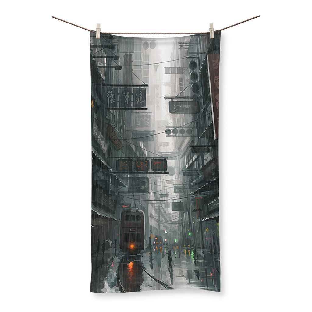 The City Beach Towel - Home - Outdoors