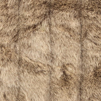 Frost Mink Light Brown Faux Fur Luxury Throw - Home - Pillows & Throws