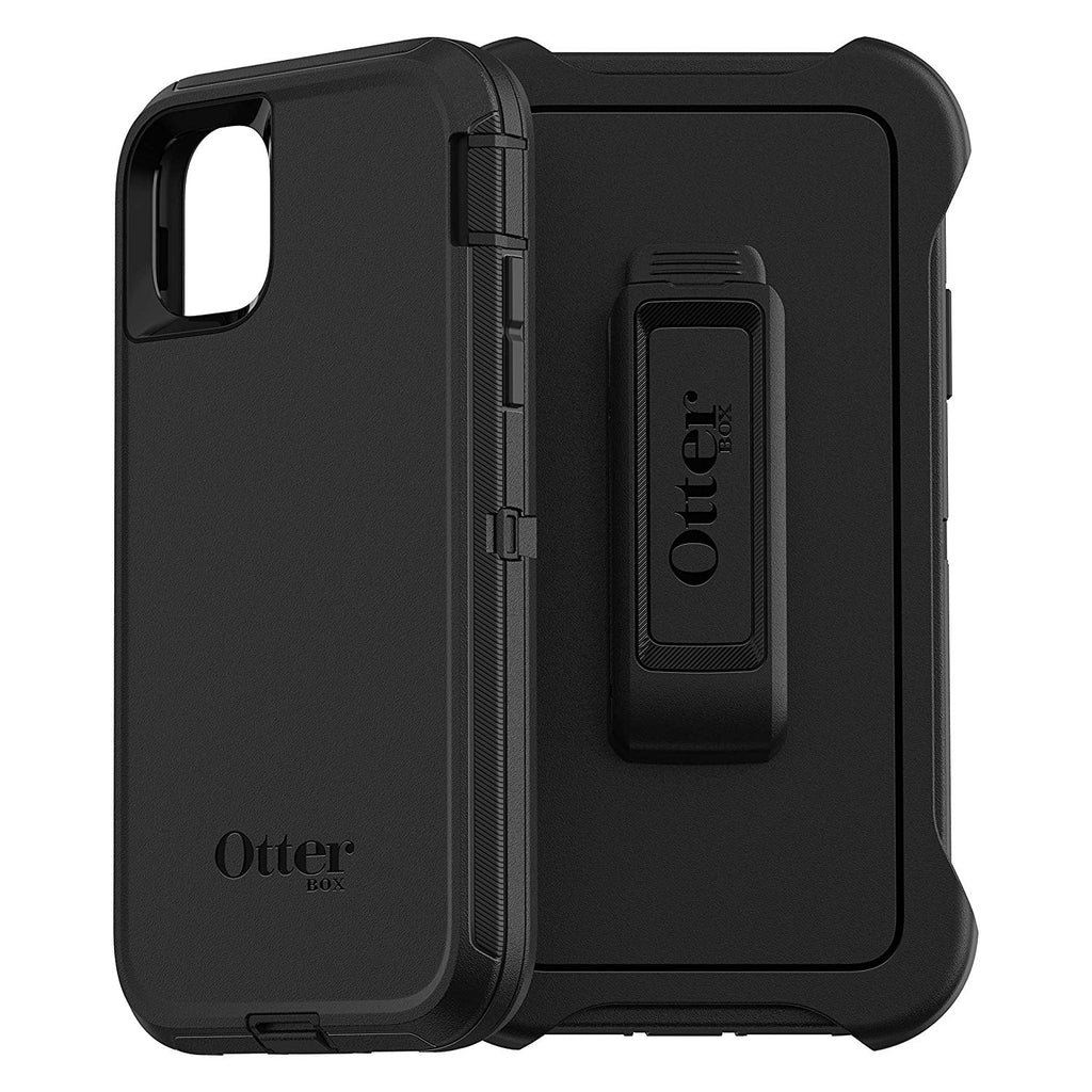 OtterBox DEFENDER SERIES SCREENLESS EDITION Case for iPhone 11 - BLACK - Amaxeon