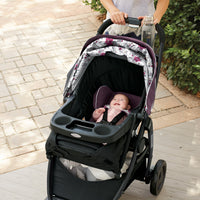 Graco Modes Travel System | Includes Modes Stroller and SnugRide SnugLock 35 Infant Car Seat, Nanette -
