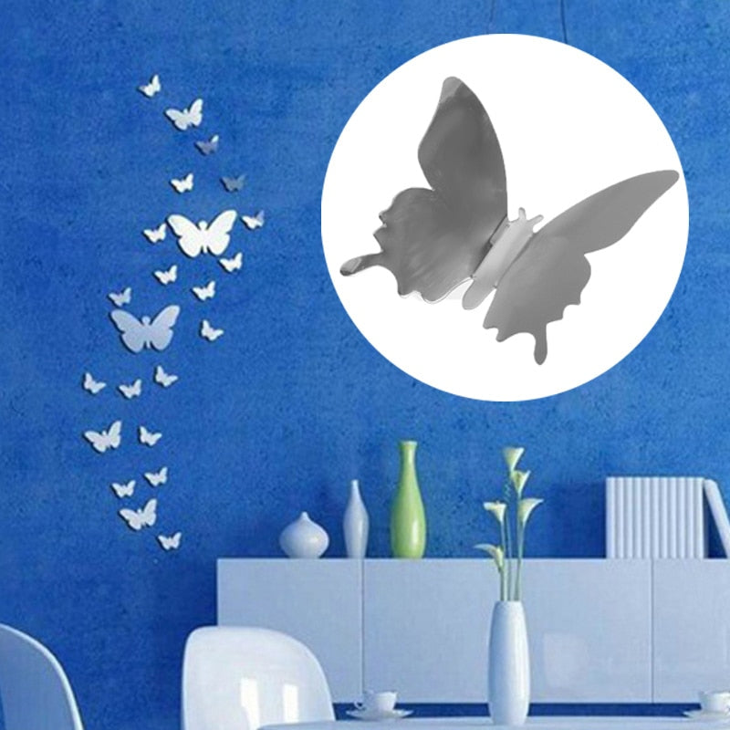 12 butterfly wall sticker - Amaxeon