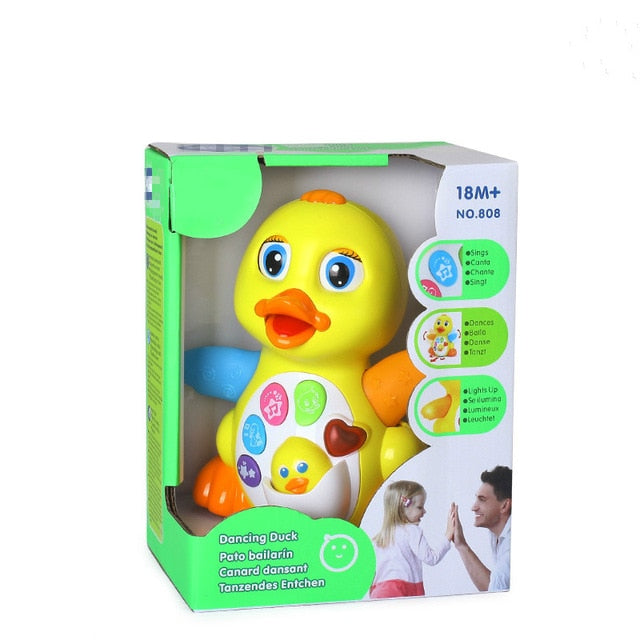 Baby Toys Flapping Yellow Duck - Amaxeon