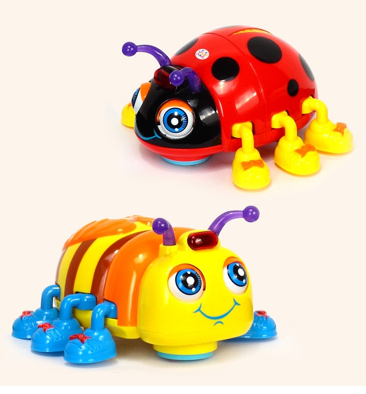 Baby Toys Infant Crawl Beetle Electric Toy - Amaxeon