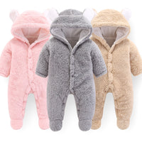 2019 Newborn Baby Winter Hoodie Clothes Polyester Infant Baby  Climbing New Spring Outwear Rompers 3m-12m Boy Jumpsuit - Amaxeon