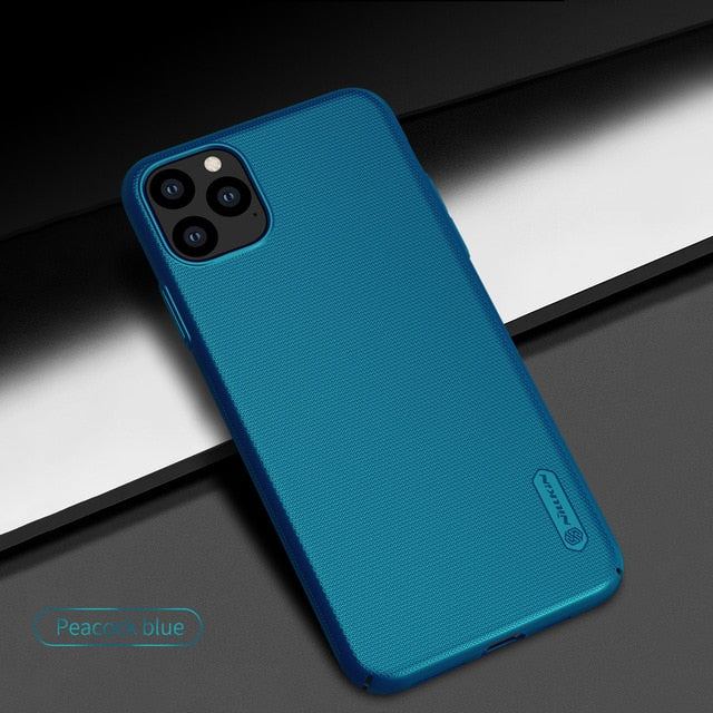 Case For iPhone 11 Pro Max 5.8/6.1/6.5 Nillkin Frosted Shield Matte PC Hard Back Cover For iPhone 11 Case Casing - Amaxeon
