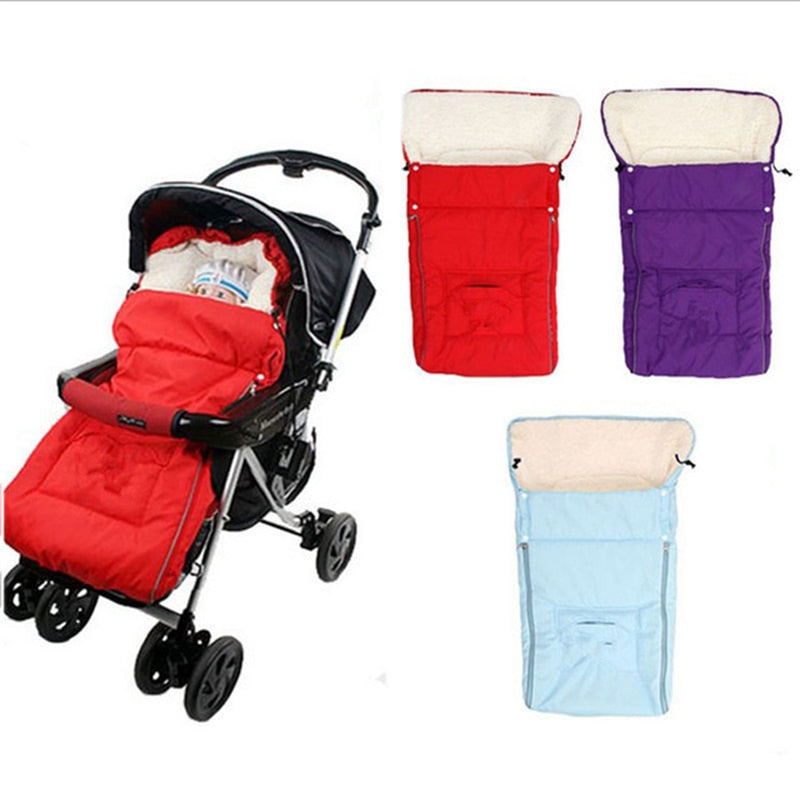Baby Sleeping Bag Thickening Stroller Sleeping Bag -