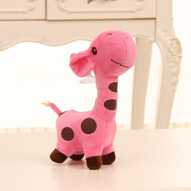 Baby Kids 18cm Cute Gift Plush Giraffe Stuffed  Animal 5 colors Unisex Cute Gift for Kids Christmas Birthday Gifts - Amaxeon