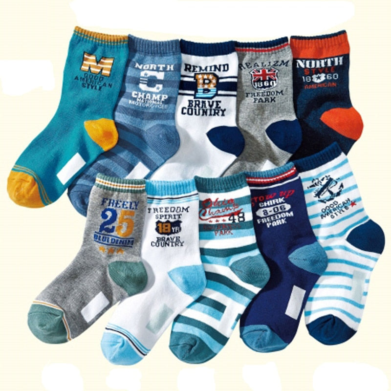 cartoon cotton child boys socks high quality -