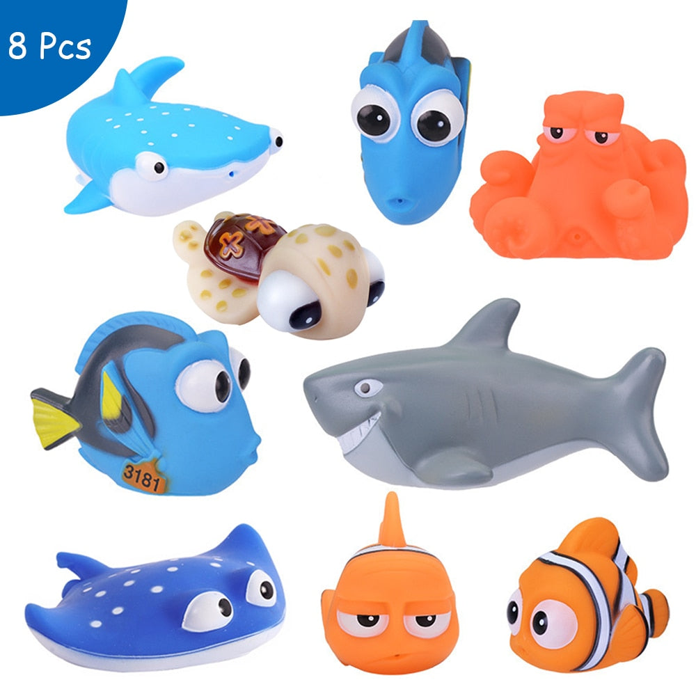 Baby Bath Toys Finding Nemo Dory Float - Amaxeon