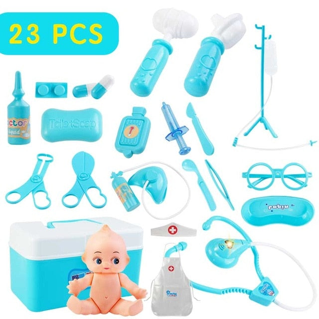 Girls Role Play Doctor Classic Medicine Simulation Toy -