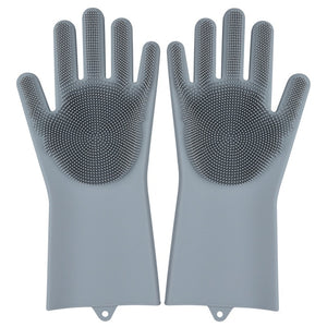 Kitchen Silicone Cleaning Gloves - Amaxeon