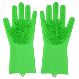 Kitchen Silicone Cleaning Gloves -