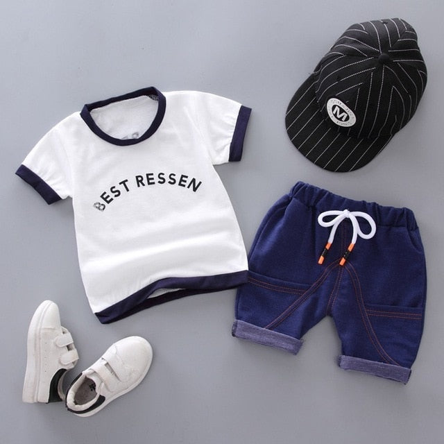Spring Baby Casual Tracksuit Cotton Zipper -