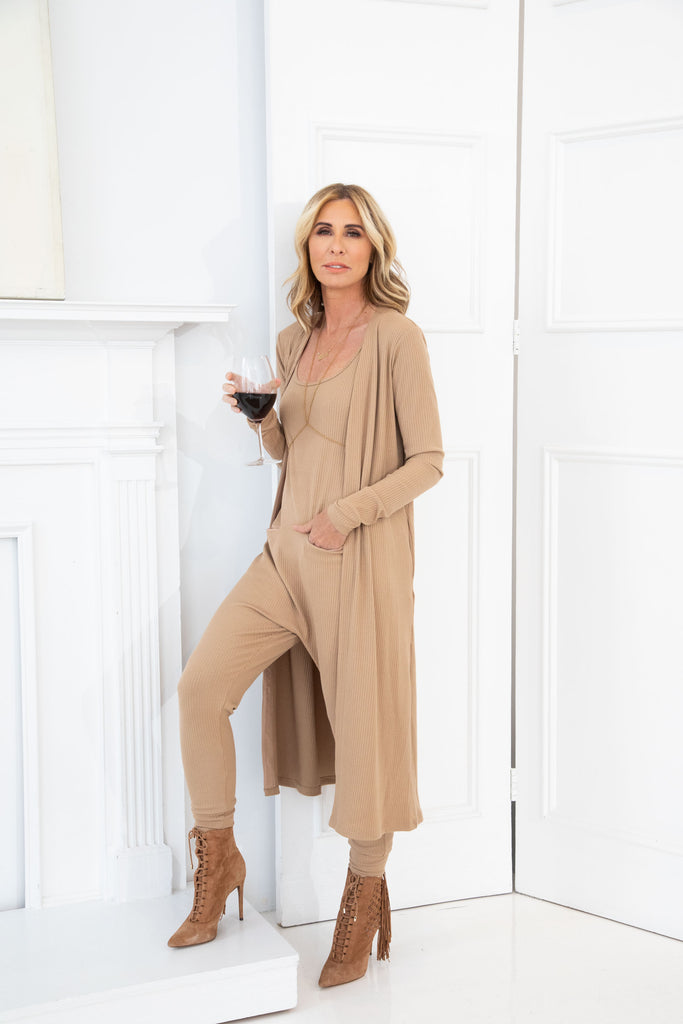 CAROLE RADZIWILL WEARING THE MANHATTAN DUSTER