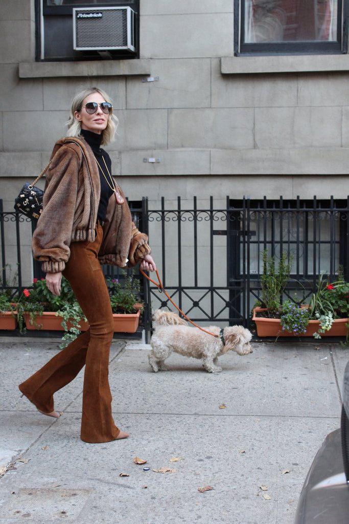 CAROLE RADZIWILL IN NEW YORK