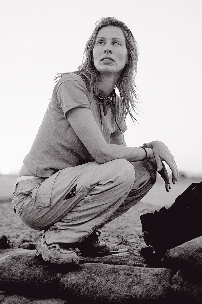 CAROLE RADZIWILL IN AFGHANISTAN