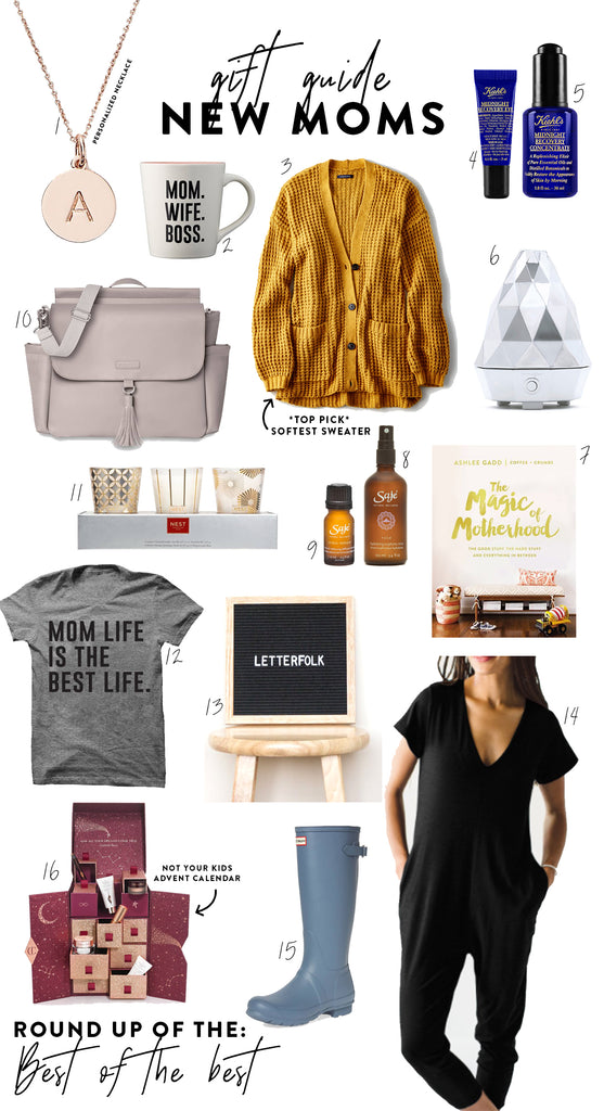 gift guide for women | Anna with Love Holiday Gift Guide for New Moms