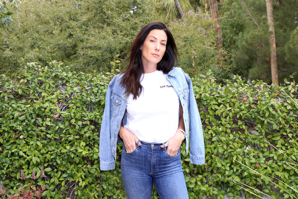 Miriam Alden from Brunette the Label and Smash + Tess Team up for a Romper Collab