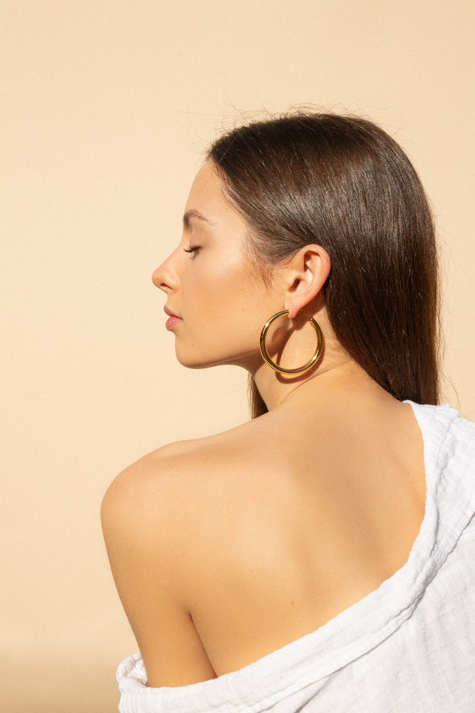 Hoop Earrings by Melanie Auld, Smash + Tess Giveaway