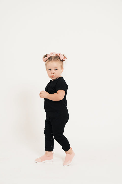 The Mini Luca Romper | Banks is wearing size 2T